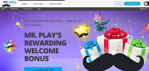 Mr Play Bonus Rewards