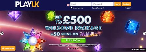 PlayUK Casino Bonus