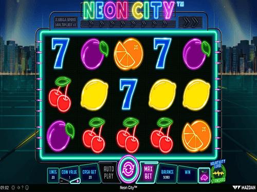 Neon City Slot Game