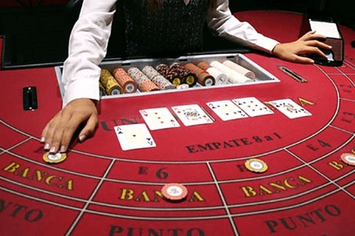 Online Baccarat Hand Values