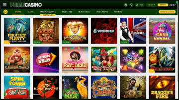 Top Prime Casino Games