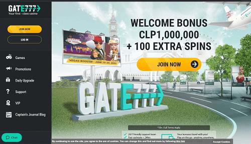 Gate777 Casino Welcome Bonuses