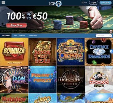 Ice36 Casino Live Games