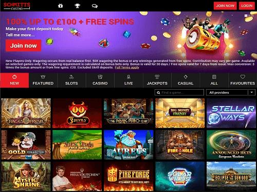 Best Schmitts Casino Games
