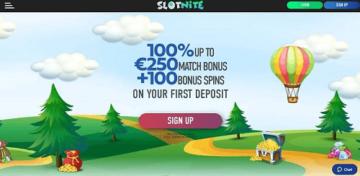 Slonite Online Casino Bonuses